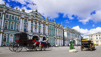 Hermitage on Palace Square, St. Petersburg, Russia