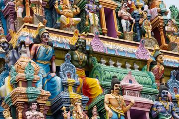Hindu Tempel, Götter und Dämonen, Sri Lanka