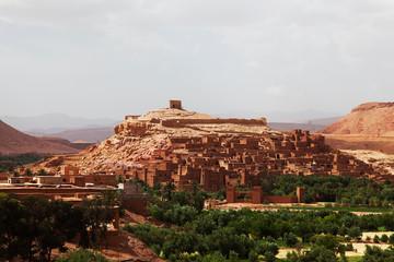 Foto op Canvas Marokko Kasbah