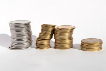 Ukrainian coins,