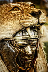Römischer Legionär Helm