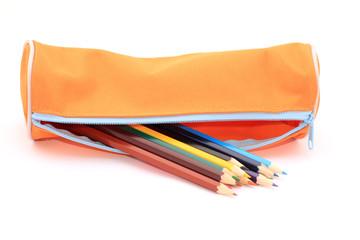 Photos illustrations et vid os de crayon de couleur - Tuto trousse crayons de couleur ...