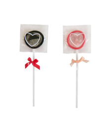 Funny candy shape condoms