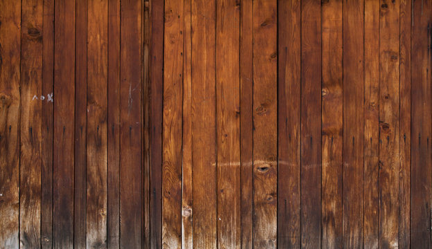 Aged rough grungy vintage boards Old rustic wooden planks panels