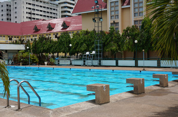 View of swimming pool