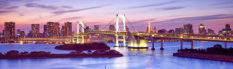 Fotomurales - Rainbow Bridge in Tokyo