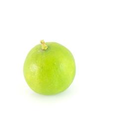 Fresh lime Isolated on white background