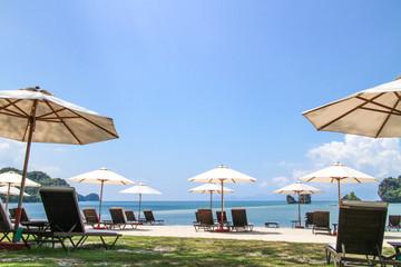 ビーチパラソル ランカウイ島