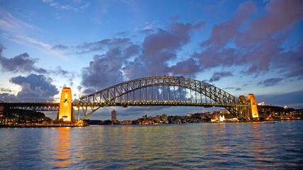 Sunste at Sydney Harbour Bridge