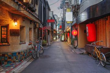 Poster Kyoto Kyoto street, Japana