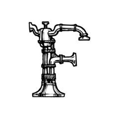 Steampunk font