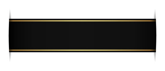 black bookmark