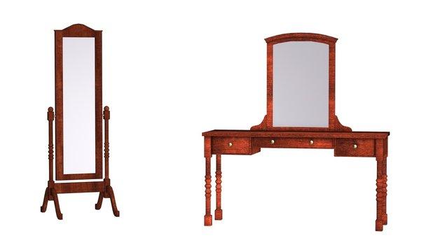 meuble mirroir