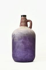 Vintage bottle of wine.