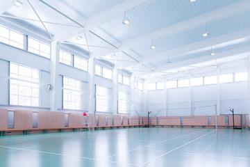 Indoors tennis court