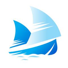 Blue Ship sign