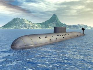 Russian Nuclear Submarine
