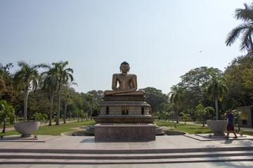 Statue of Lord Buddha in Colombo, Sri Lanka