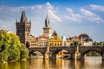 Obraz Miasto Praga, Czechy - fototapety do salonu