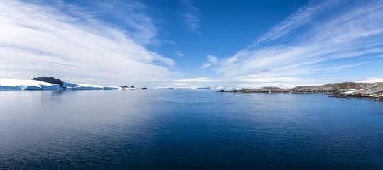 Antarctic Panorama Paradis Bay