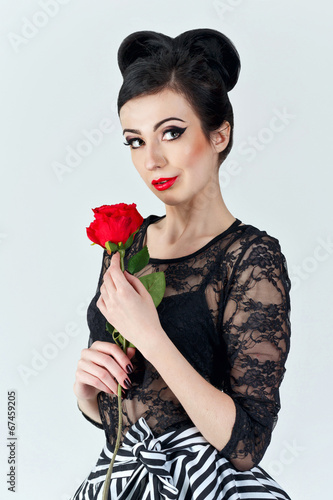 beautiful girl stockfotos und lizenzfreie bilder auf bild 67459205. Black Bedroom Furniture Sets. Home Design Ideas