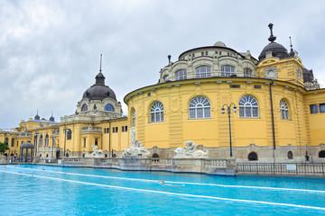 Budapest szechenyi bath spa. Hungary.