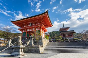 Wall Mural - Kiyomizu Dera temple in Kyoto , Japan