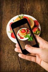 Smartphone shot food photo