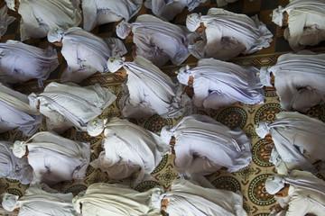 Religious ceremony in Cao Dai Temple