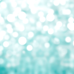 Abstract background with bokeh de focused lights and shadow gree