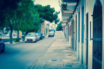 Street Mediterranean city