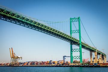 Vincent Thomas Bridge in San Pedro, CA