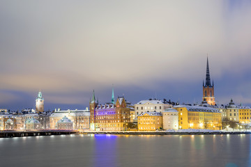 Old Town Stockholm city