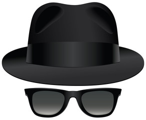 Fedora sunglasses