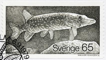 Pike Stamp