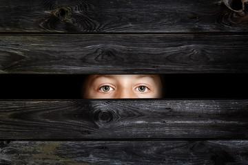 Hiding Child
