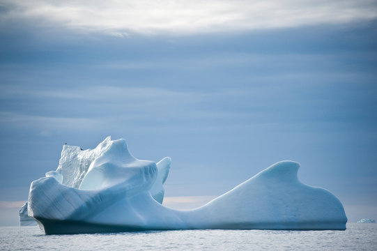 Icebergs of polar regions, Greenland