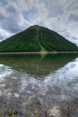 Foto auf AluDibond Reflexion Riflessi nella natura