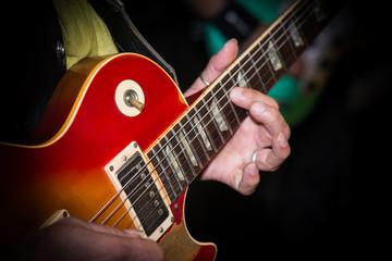 Guitar and guitarist