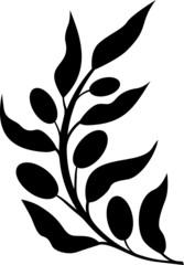 Olive branch black