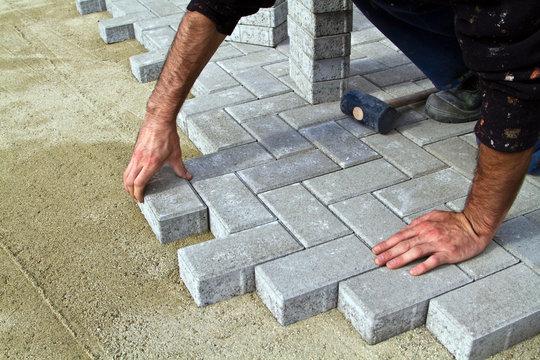 Construction of pavement