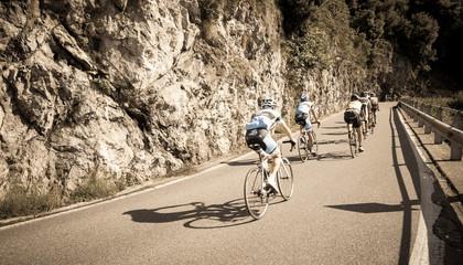 Foto auf Acrylglas Radsport ciclismo