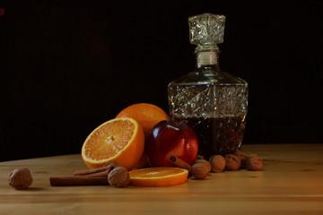 Karafka z owocami 2