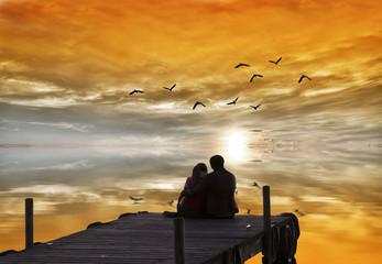 amor frente al sol
