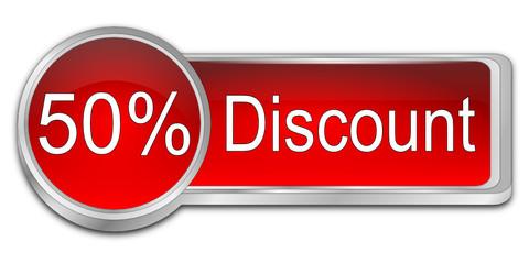 50% Discount Button