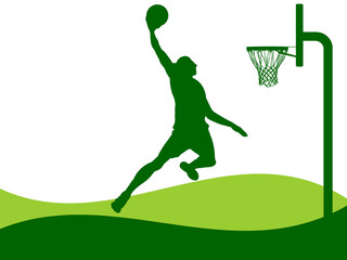 Illustration - Basketball
