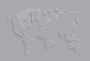 Border Worlds map