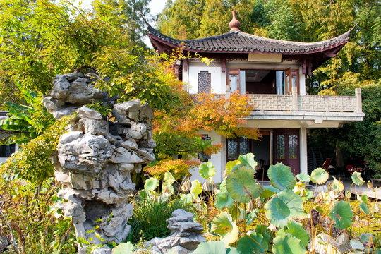 lLandscape of West lake park. Hangzhou. China.
