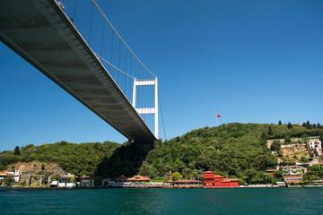 Fatih Sultan Mehmed Bridge at Istanbul - Turkey