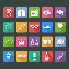 Party and holiday icon